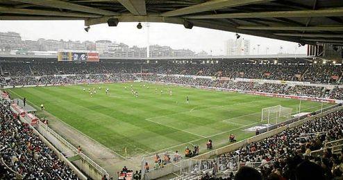 Imagen de ´El Sardinero´, estadio del Racing de Santander.