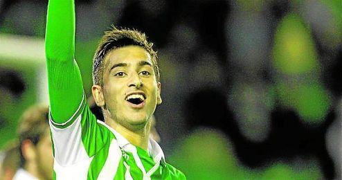Vadillo quiere volver a celebrar goles en el Betis.