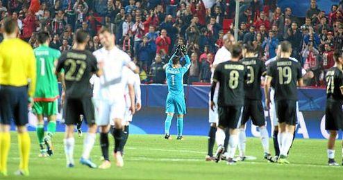 El Sevilla se quedar�a el t�tulo de la Europa League en propiedad de volver a ganarlo.