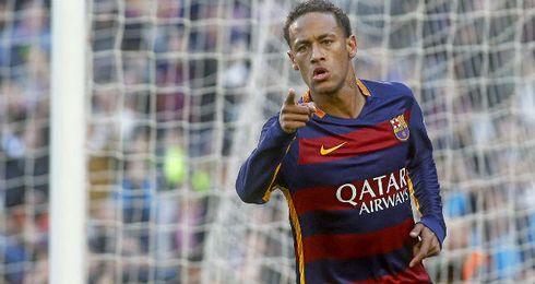 Neymar sufre una lesi�n en el aductor de la pierna izquierda.