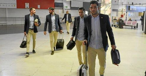 La expedici�n b�tica llegar� a Sevilla sobre las 17:45 horas.
