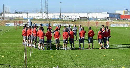 El Sevilla retomará el trabajo mañana.