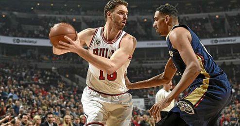 Gasol volvió a ser vital para los Bulls.