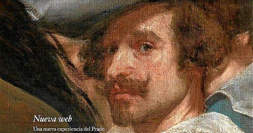 Intro de la nueva web del Museo del Prado.