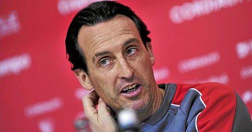 Unai Emery ha analizado al Molde en sala de prensa.