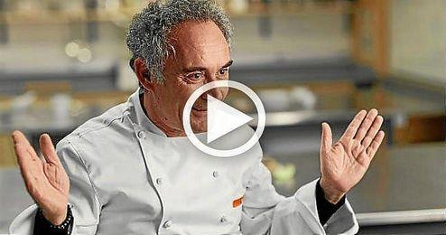 En la imagen, el cocinero español Ferrán Adriá.