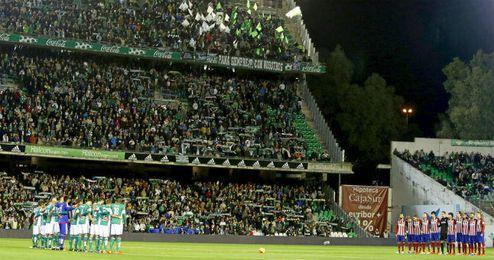Los estadios guardar�n un minuto de silencio en los partidos de Copa del Rey.