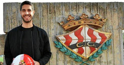 Carlos García, nuevo jugador del Nàstic.