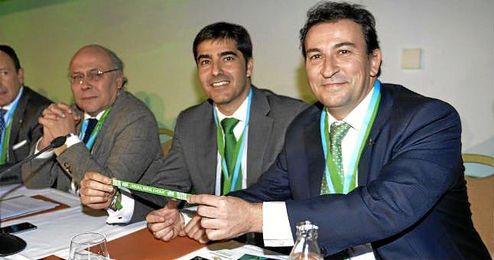 Haro y López Catalán intentan lograr el quorum.