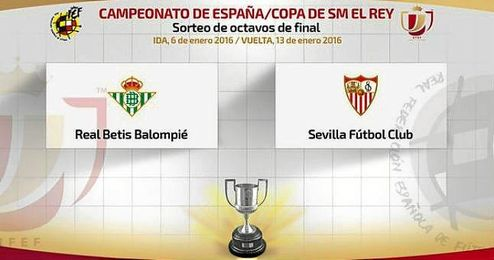 La �ltima vez que Betis y Sevilla se enfrentaron en Copa del Rey fue en los cuartos de final de la temporada 2006/2007.