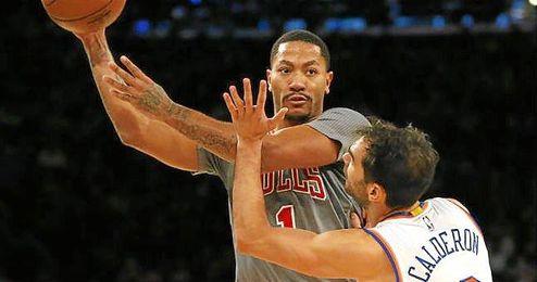 Los de la �Gran Manzana� (14-14), liderados por el alero Carmelo Anthony (27 puntos), firmaron su cuarta victoria consecutiva.