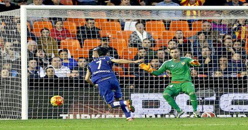 El Valencia pinchó ante el Getafe.