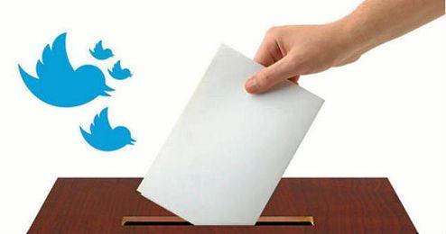 Podemos e Izquierda Unida, los partidos m�s mencionados en Twitter.