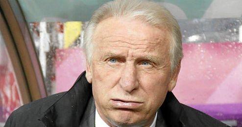En la imagen, el entrenador italiano Giovani Trapattoni.