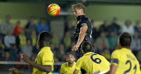 El gol de Llorente en Villarreal, el único que no reportó puntos.