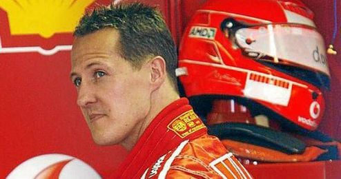 Schumacher prosigue su rehabilitación.