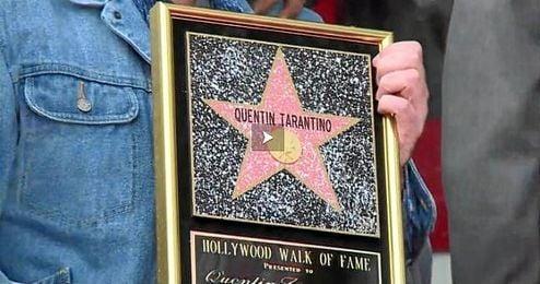 Tarantino fue presentado por el actor y compañero en muchos de sus proyectos Samuel L. Jackson.