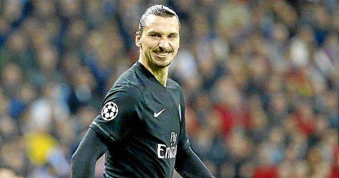 """Esta temporada, """"Ibra"""" lleva anotados 15 goles en 14 partidos de liga, 2 en Liga de Campeones y otros 6 con la selección de Suecia."""