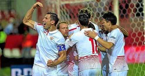 El Sevilla ha sumado 69 puntos en el 2015, a falta de un partido.