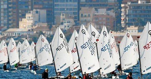 El Trofeo Internacional AECIO de la clase Optimist es la segunda prueba de la �Excellence Cup�.