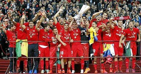 El Sevilla conquistó en Varsovia su cuarta Europa League el pasado mes de mayo.
