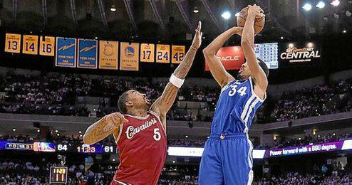 Los Warriors volvieron a vencer a los Cavaliers.
