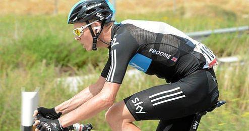 Chris Froome en la pasada edición de la Vuelta a Andalucía.