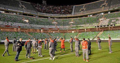 El Sevilla venderá 1.100 entradas para el derbi del 6-E