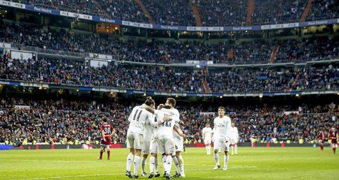 El Real Madrid sella la última victoria del año.