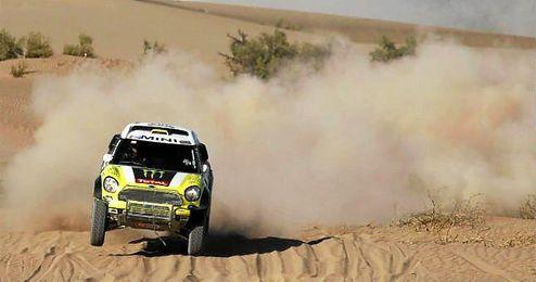 En la imagen, Nani Roma en el Rally Dakar.