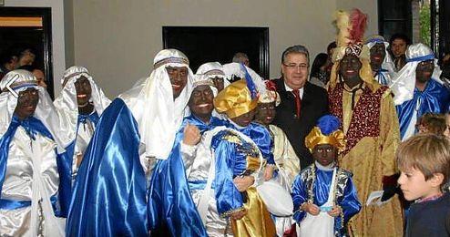 Imagen del Heraldo de SS.MM. Los Reyes Magos de Oriente durante el año pasado.