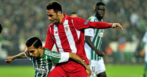 Castro espera que el Sevilla se imponga en el derbi de Copa.