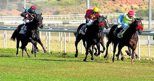 El Gran Hipódromo de Andalucía vivió ayer el primer programa del año 2016.