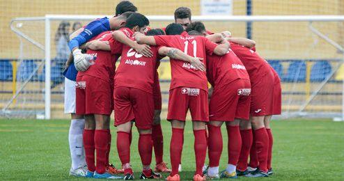 El conjunto de Lebrija se conjura justo antes de la disputa de un encuentro esta temporada.