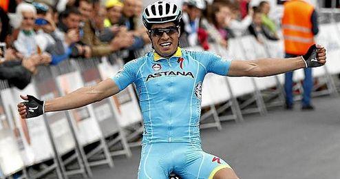 En la imagen, el ciclista alav�s Mikel Landa.