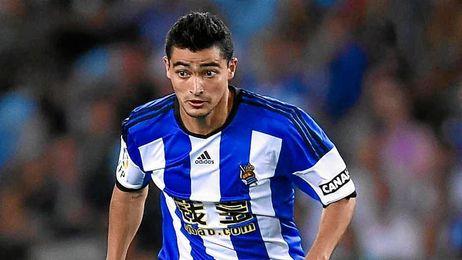El ´Chory´ Castro deja la Real Sociedad, para fichar por el Málaga.