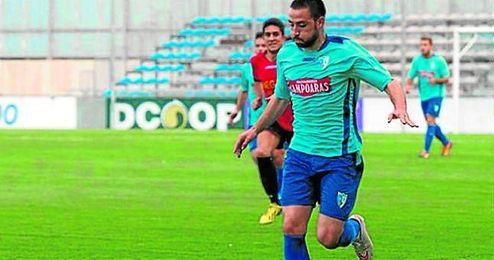 En la imagen, Carraña, nuevo jugador del Écija.