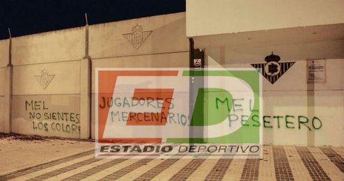 La Ciudad Deportiva ha amanecido hoy así.