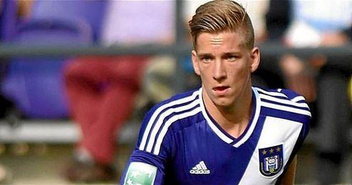 En la imagen, el futbolista del Anderlecht Dennis Praet.