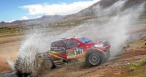 Esta edición del Dakar llegó a su ecuador con 289 vehículos en la carrera.