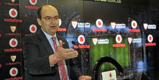 Jos� Castro, presidente del Sevilla FC.