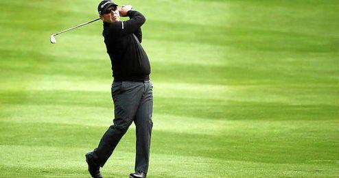 Pedro Oriol, tras la primera ronda, fue el mejor de los siete espa�oles que participan en el torneo.