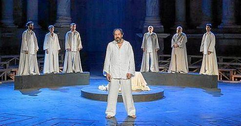 La obra se estrenó el pasado mes de julio 2015 en el Festival de Mérida.