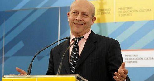 El ministro Jose Ignacio Wert aprobó la polémica LOMCE.
