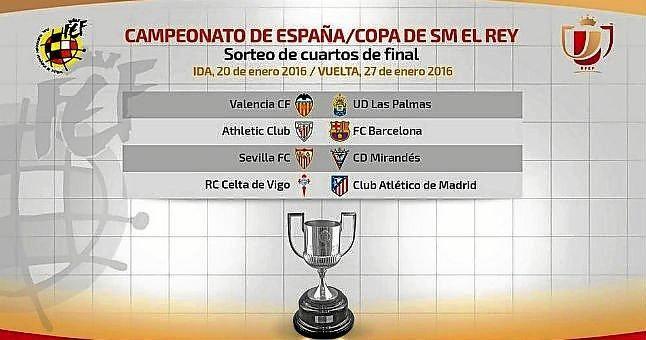 Sevilla-Mirandés, en los cuartos de final de la Copa del Rey ...