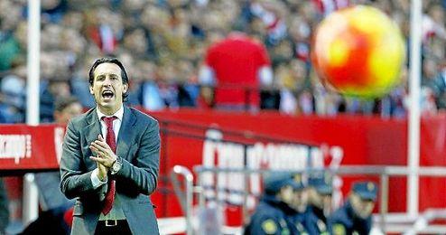 Suma 115 partidos como entrenador sevillista.