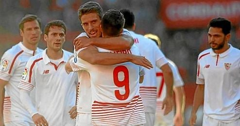 El Sevilla está intratable en su estadio.