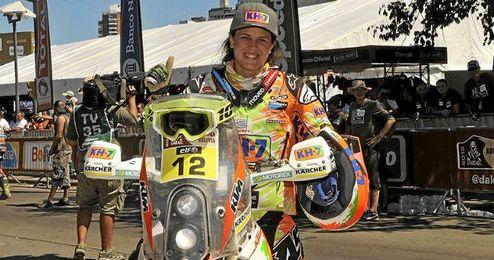 Laia Sanz ha realizado un buen papel en el Dakar 2016.