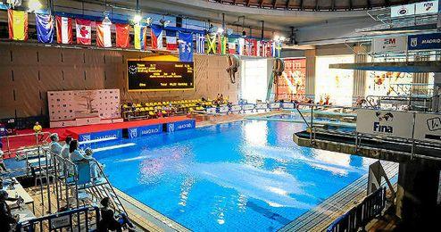 Las piscinas del Mundial 86 de Madrid han acogido este Grand Prix