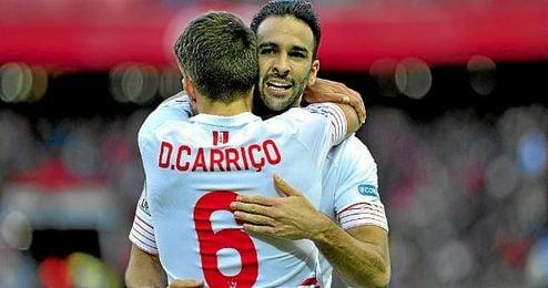 Daniel Carriço ha reaparecido tras su lesión con dos victorias consecutivas en Nervión.